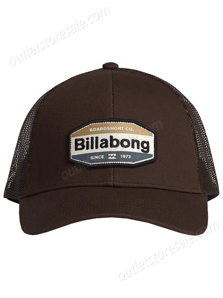 Billabong-Walled Trucker Cap high quality and inexpensive - -0