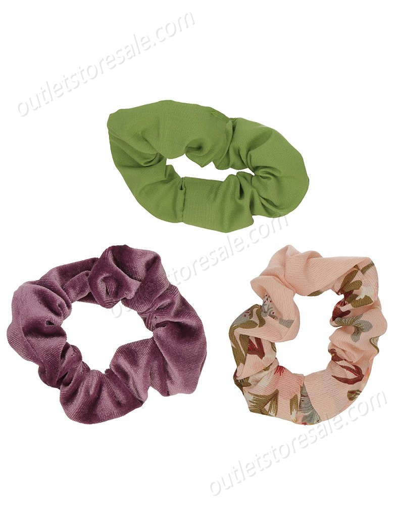 Stone and Locket-3Pk Scrunchie high quality and inexpensive - -0