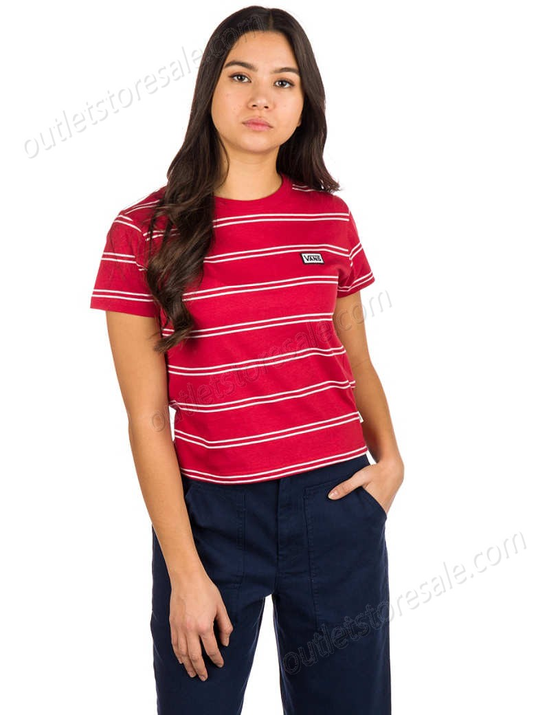 Vans-Spacey Stripe T-Shirt high quality and inexpensive - Vans-Spacey Stripe T-Shirt high quality and inexpensive
