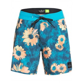 Quiksilver-Highline Sprayed Daisy 17 Boardshorts high quality and inexpensive